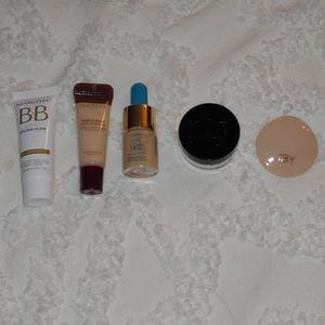 Tarte, Kat Von D, Marcelle, IBY, Wander Beauty Makeup - ♡ Light Face Minis Set.